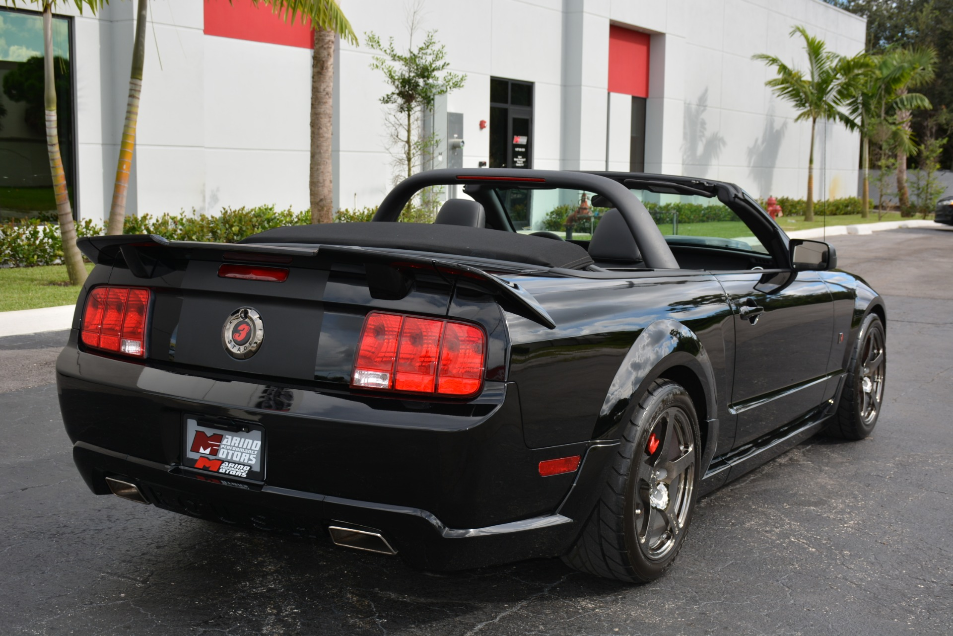 2009 ford mustang roush stage 3 blackjack convertible gt. Black Bedroom Furniture Sets. Home Design Ideas