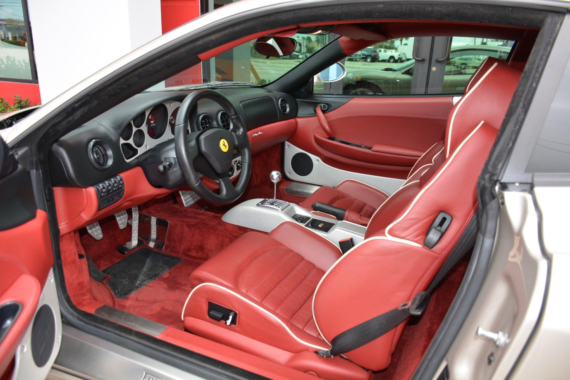 2003 Ferrari 360 Modena for sale in Bonita Springs, FL ... |Ferrari 360 Modena Interior