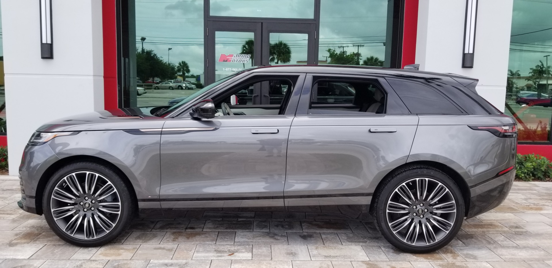 used 2018 land rover range rover velar first edition for sale 79 900 marino performance. Black Bedroom Furniture Sets. Home Design Ideas