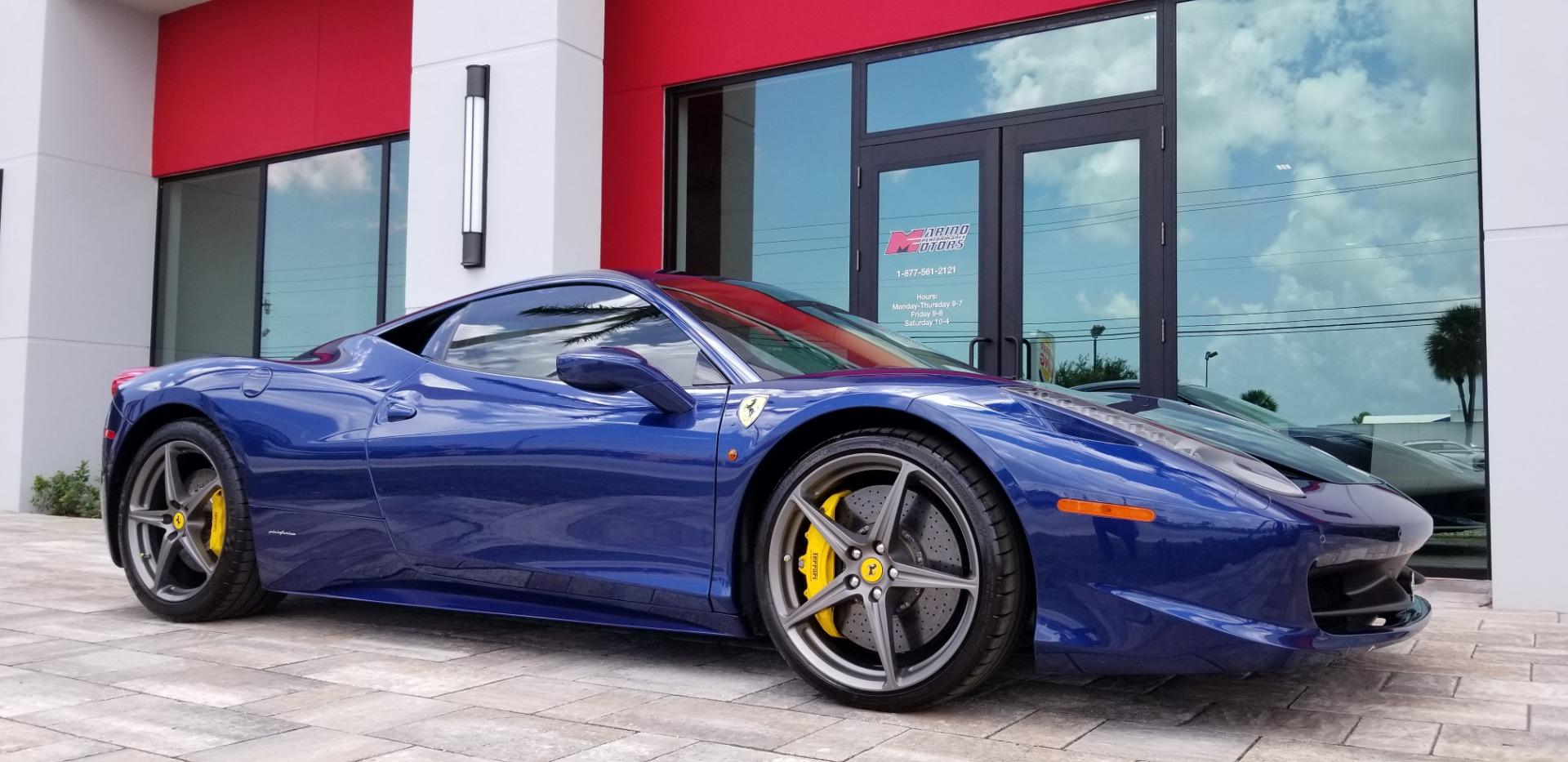 used 2011 ferrari 458 italia for sale   179 900
