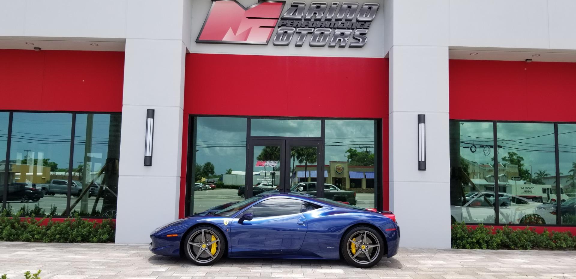 Used 2011 Ferrari 458 Italia For Sale 179900 Marino