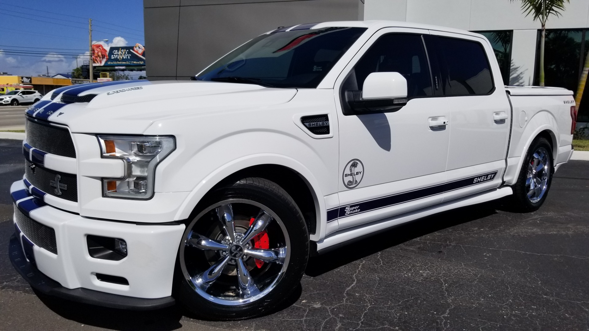Ford Truck Shelby >> Used 2017 Ford F 150 Shelby Super Snake For Sale Special