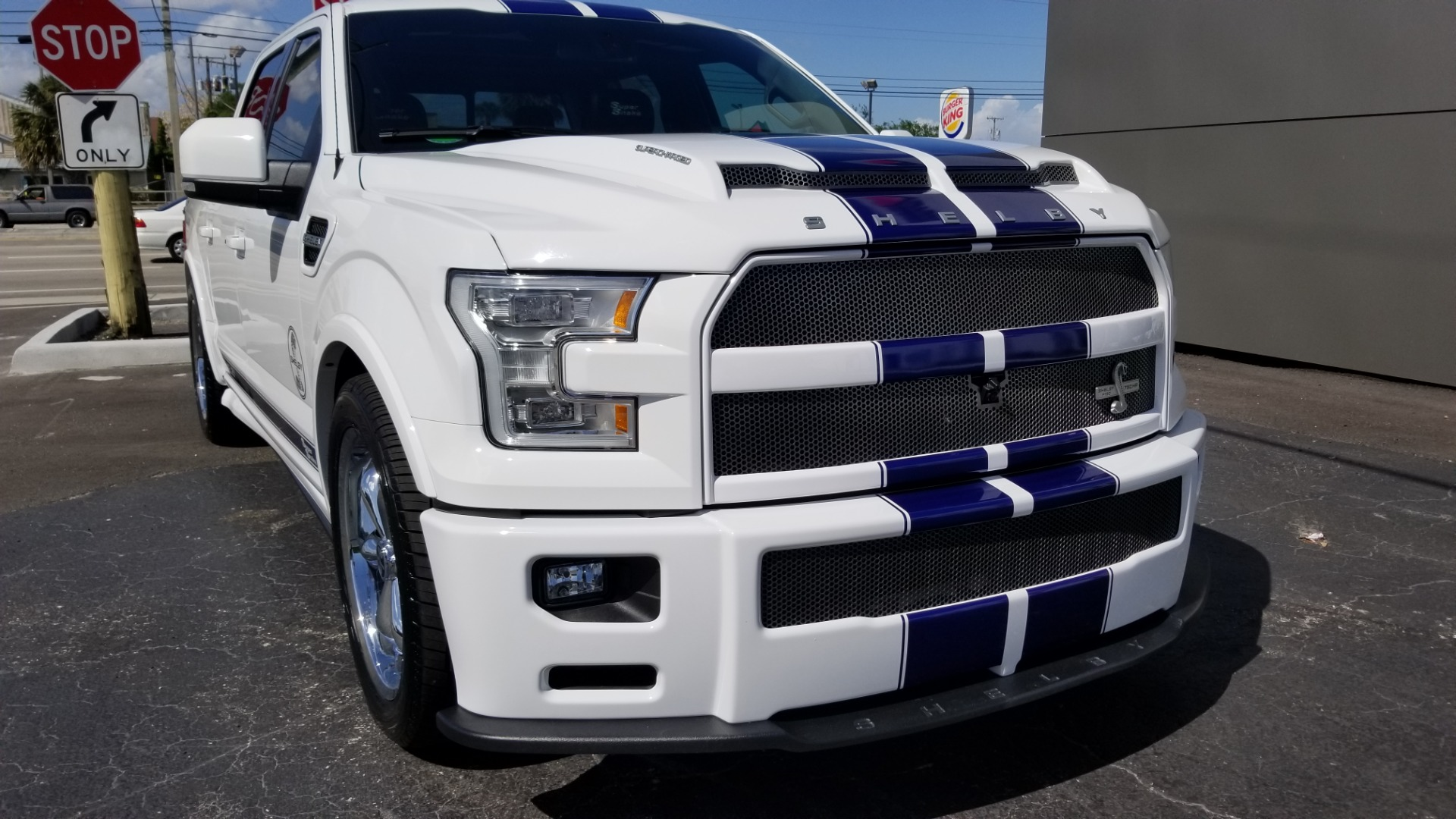 Shelby F150 For Sale >> Used 2017 Ford F-150 Shelby Super Snake For Sale (Special ...