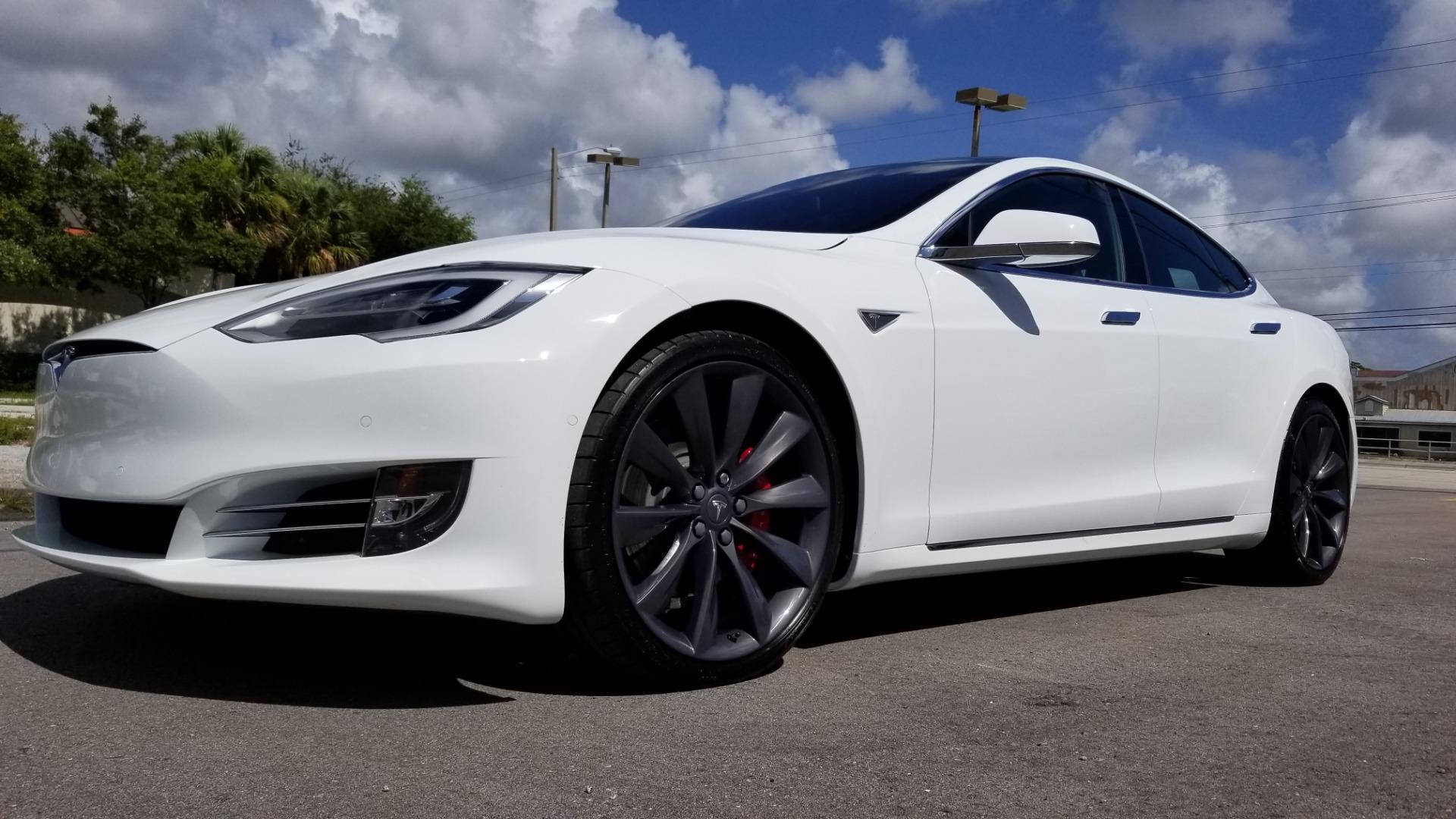 Tesla Model S P90D >> Used 2016 Tesla Model S P90d For Sale 87 900 Marino