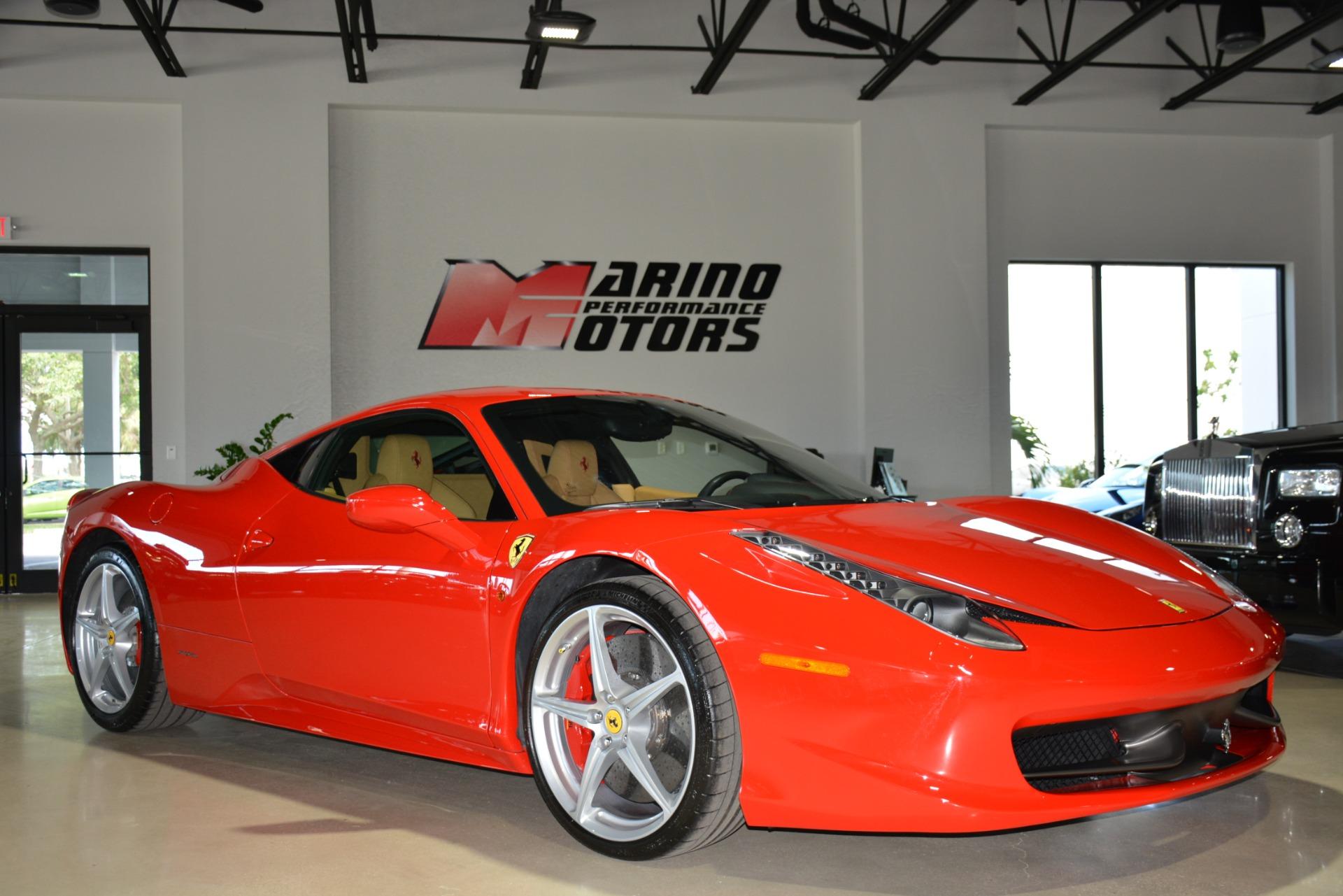used 2011 ferrari 458 italia for sale   182 900