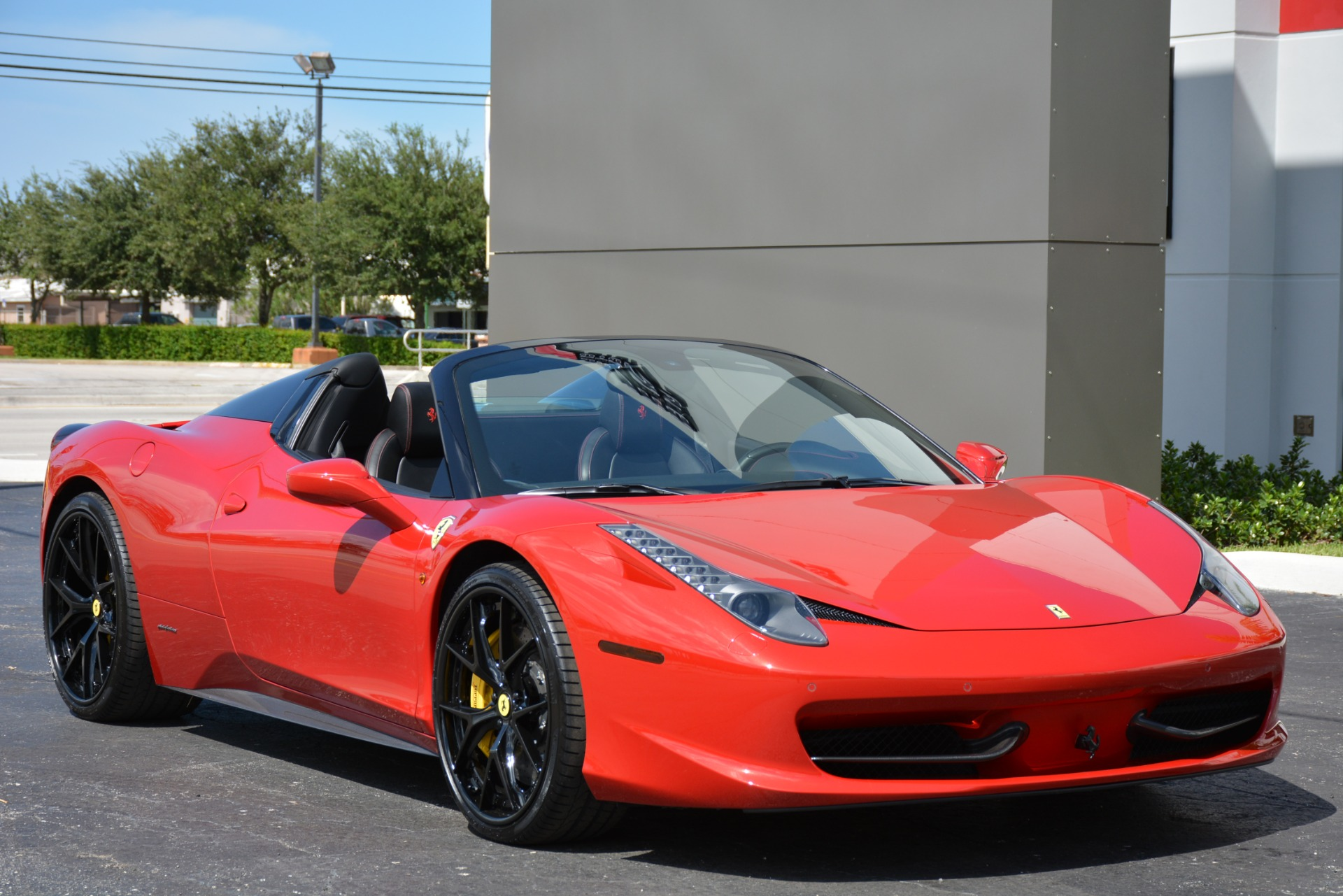 Used 2015 Ferrari 458 Spider For Sale ($224,900) | Marino ...  Ferrari 458 Spider Red