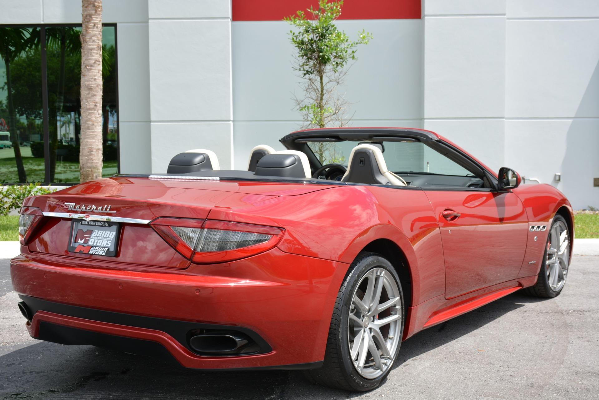 Used 2015 Maserati GranTurismo Sport Convertible For Sale ...