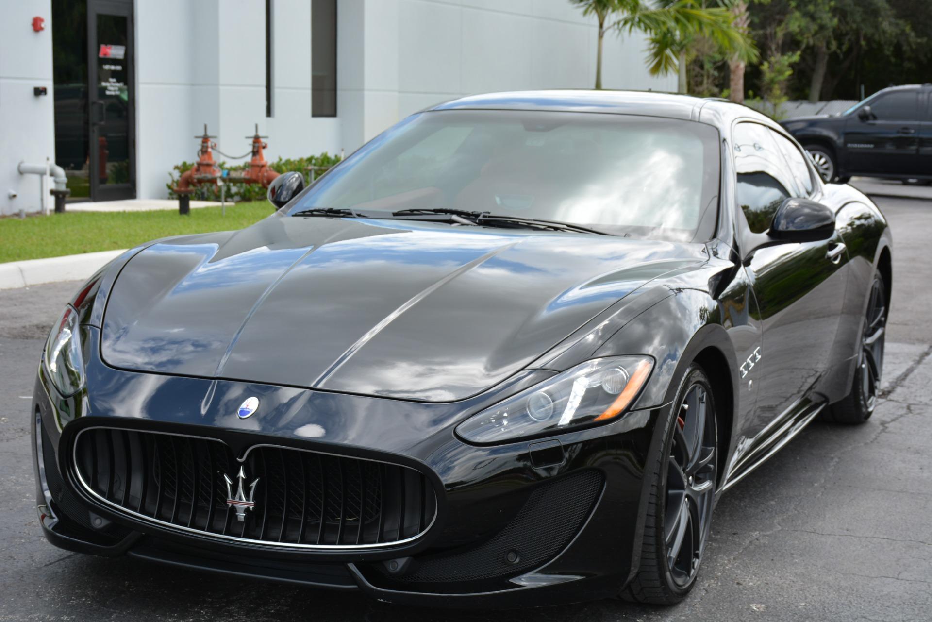 Used 2017 Maserati GranTurismo Sport For Sale ($84,900)   Marino Performance Motors Stock #218485