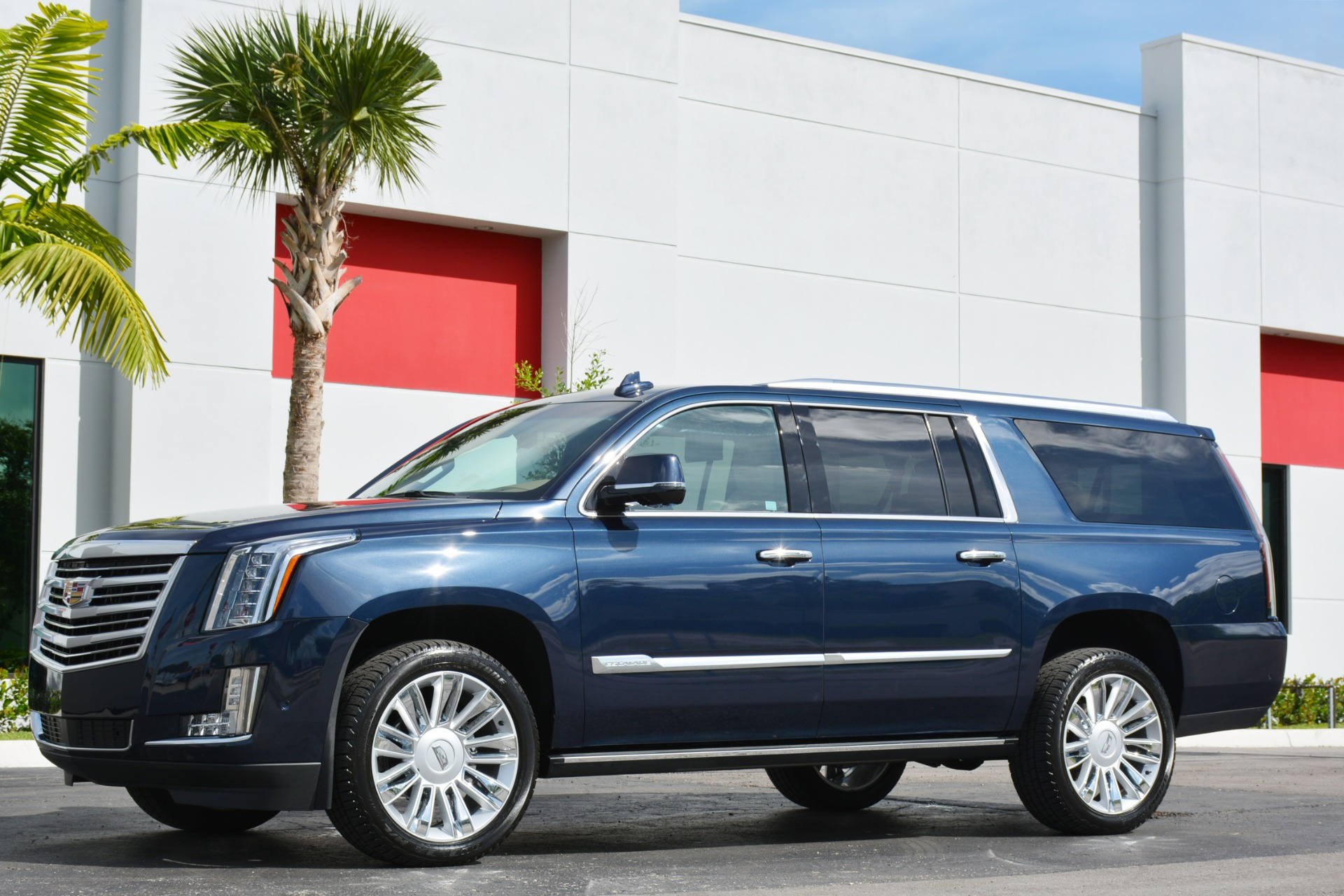 Used Cadillac Escalade For Sale >> Used 2018 Cadillac Escalade ESV Platinum For Sale ($89,900 ...