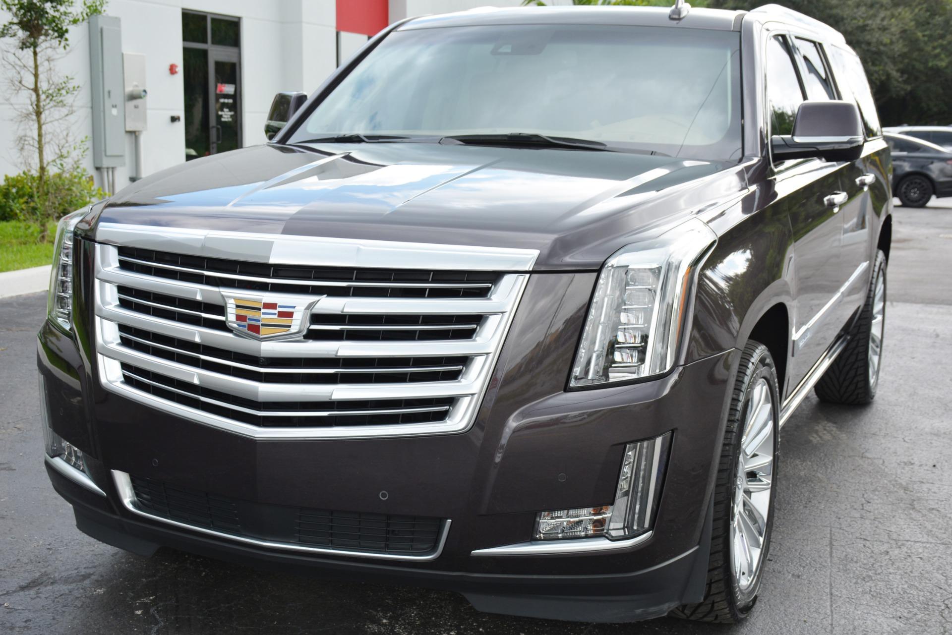 Used 2016 Cadillac Escalade ESV Platinum For Sale ($58,900)   Marino Performance Motors Stock ...