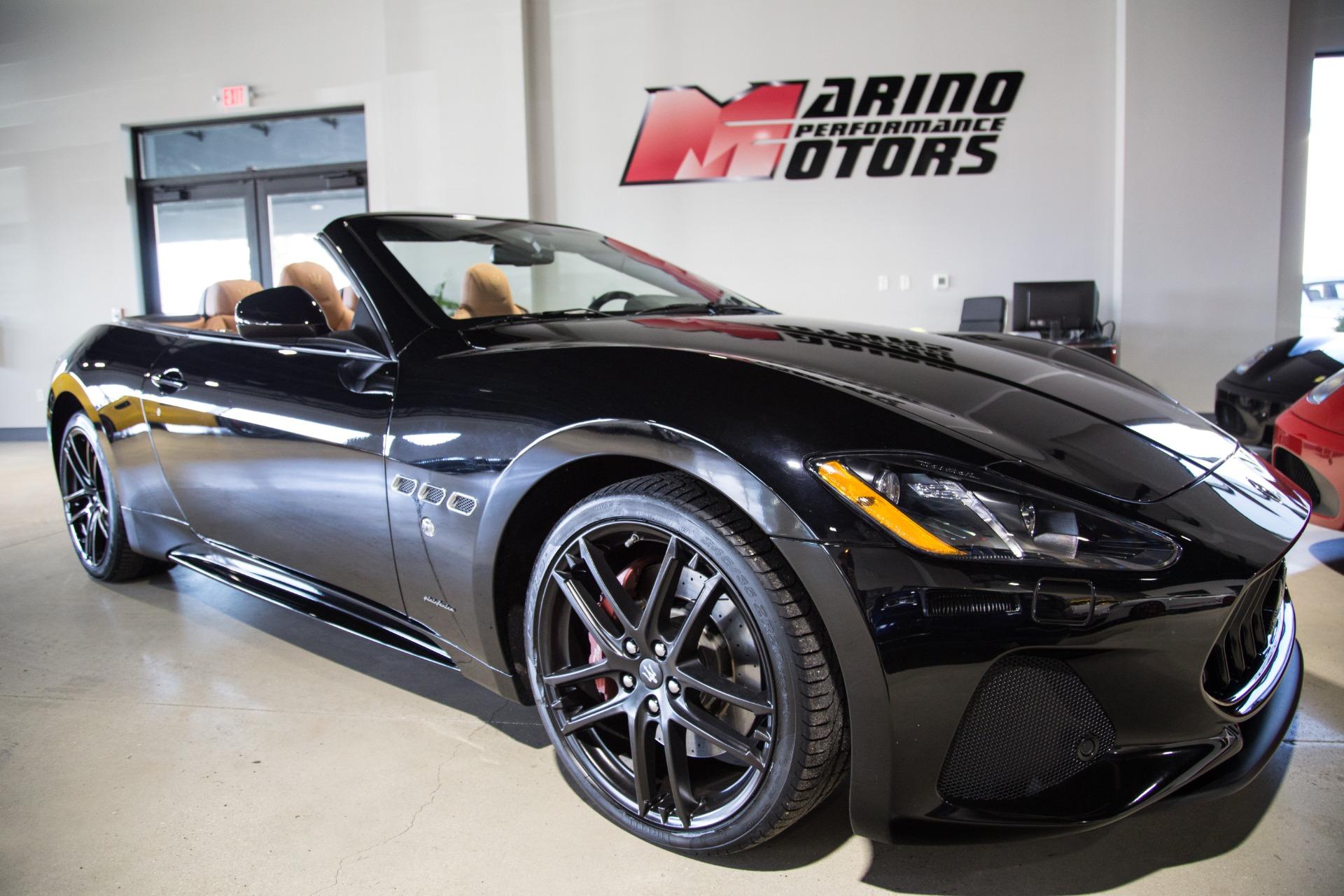Used 2018 Maserati GranTurismo Sport Convertible For Sale ...