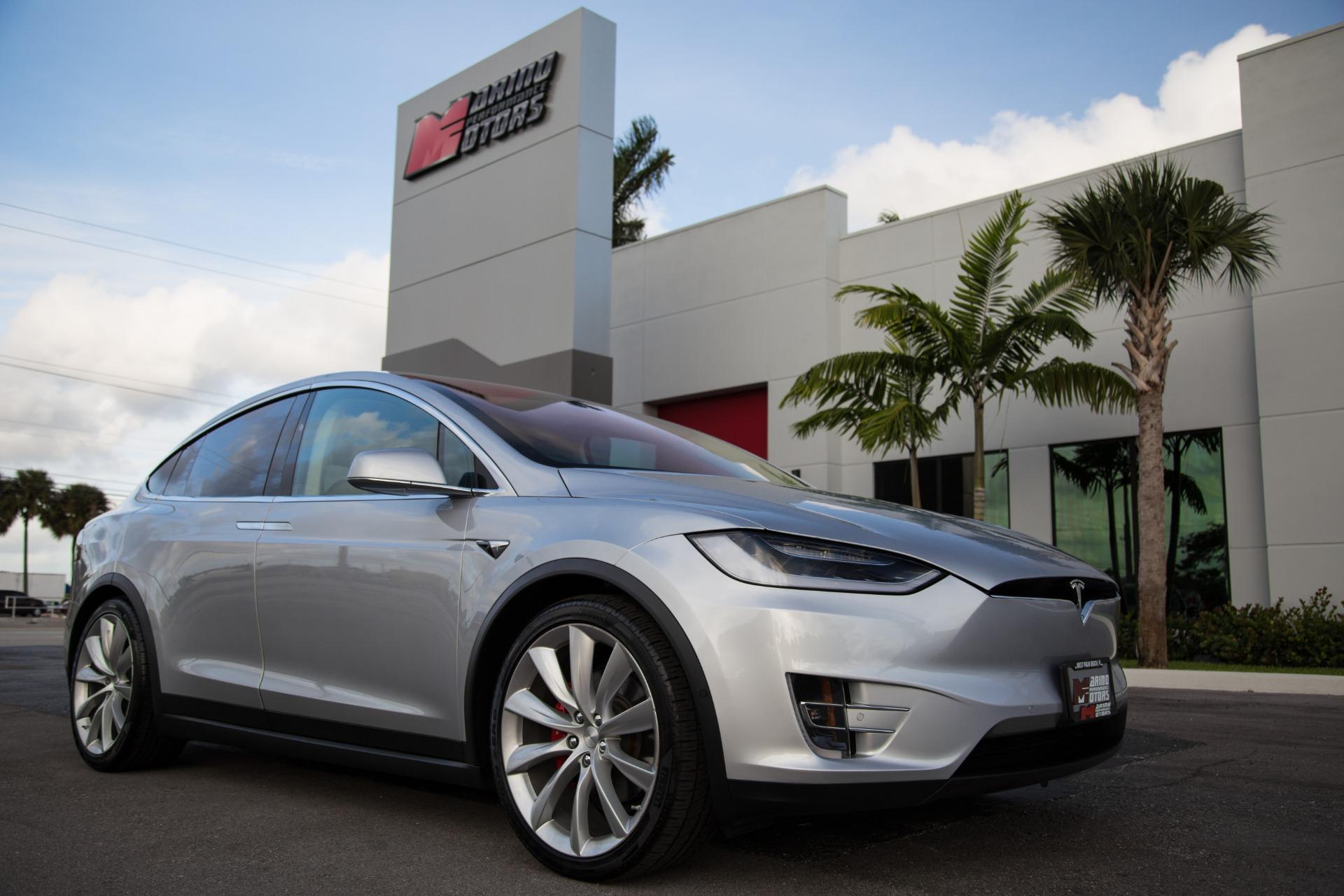 Used 2017 Tesla Model X P100d