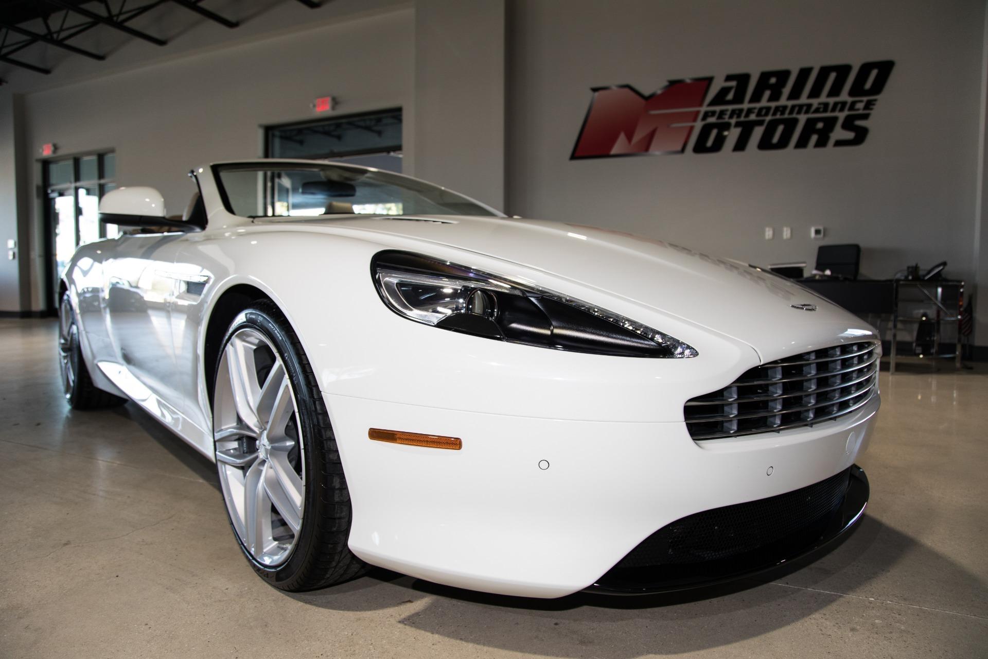 Aston Martin Used >> Used 2016 Aston Martin Db9 Gt Volante For Sale 129 900