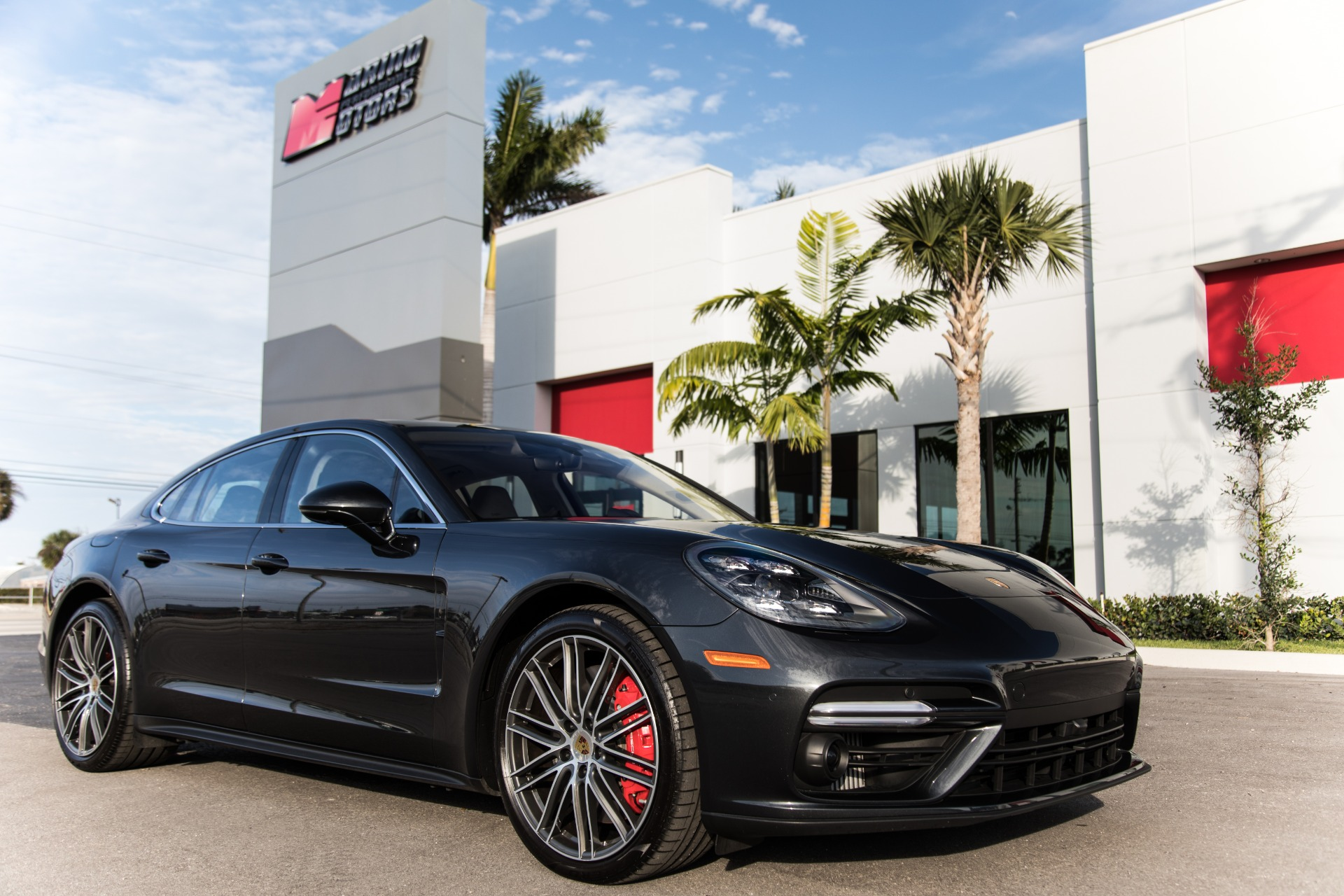 Used 2017 Porsche Panamera Turbo