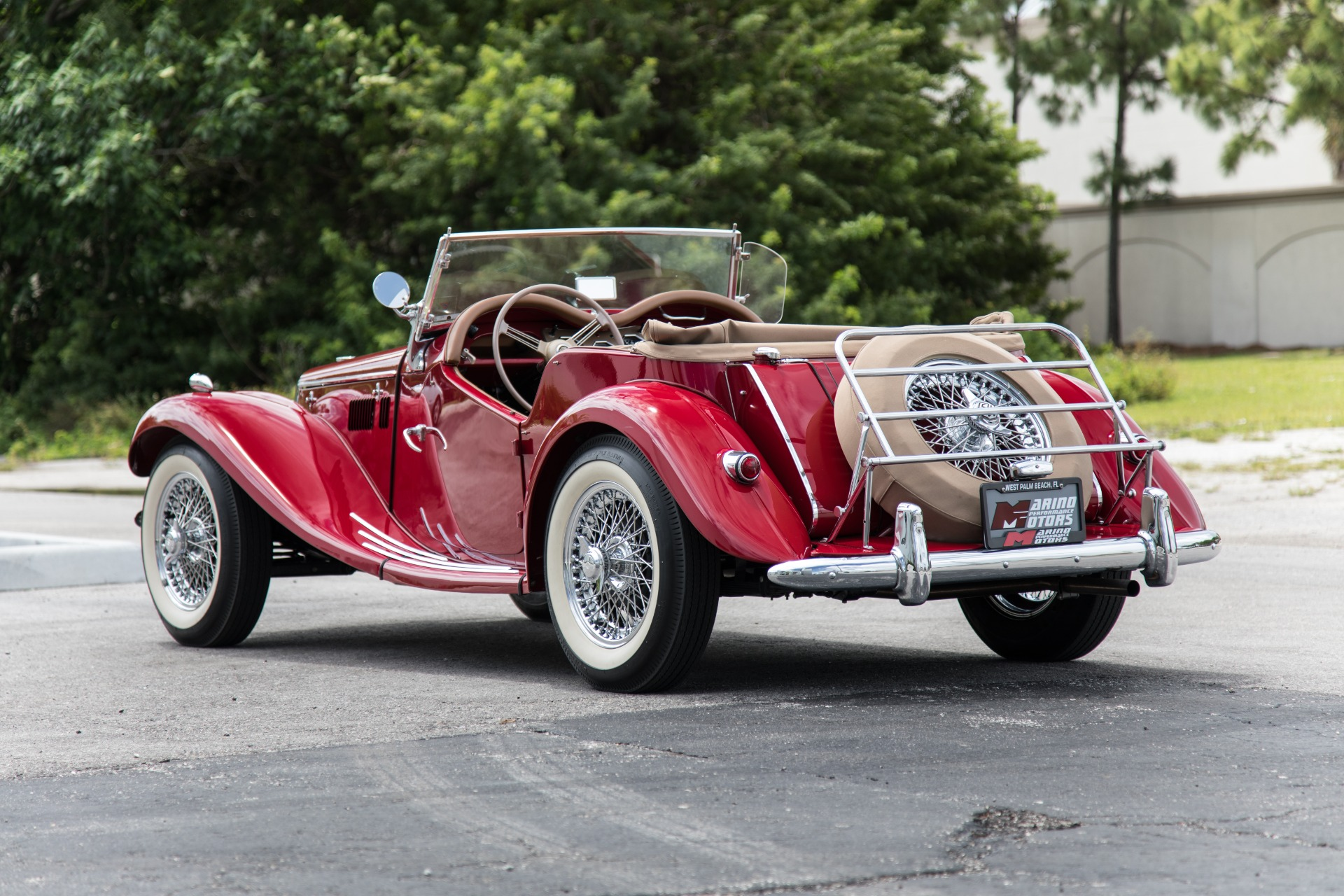 Used 1954 MG TF For Sale 39 900 Marino Performance