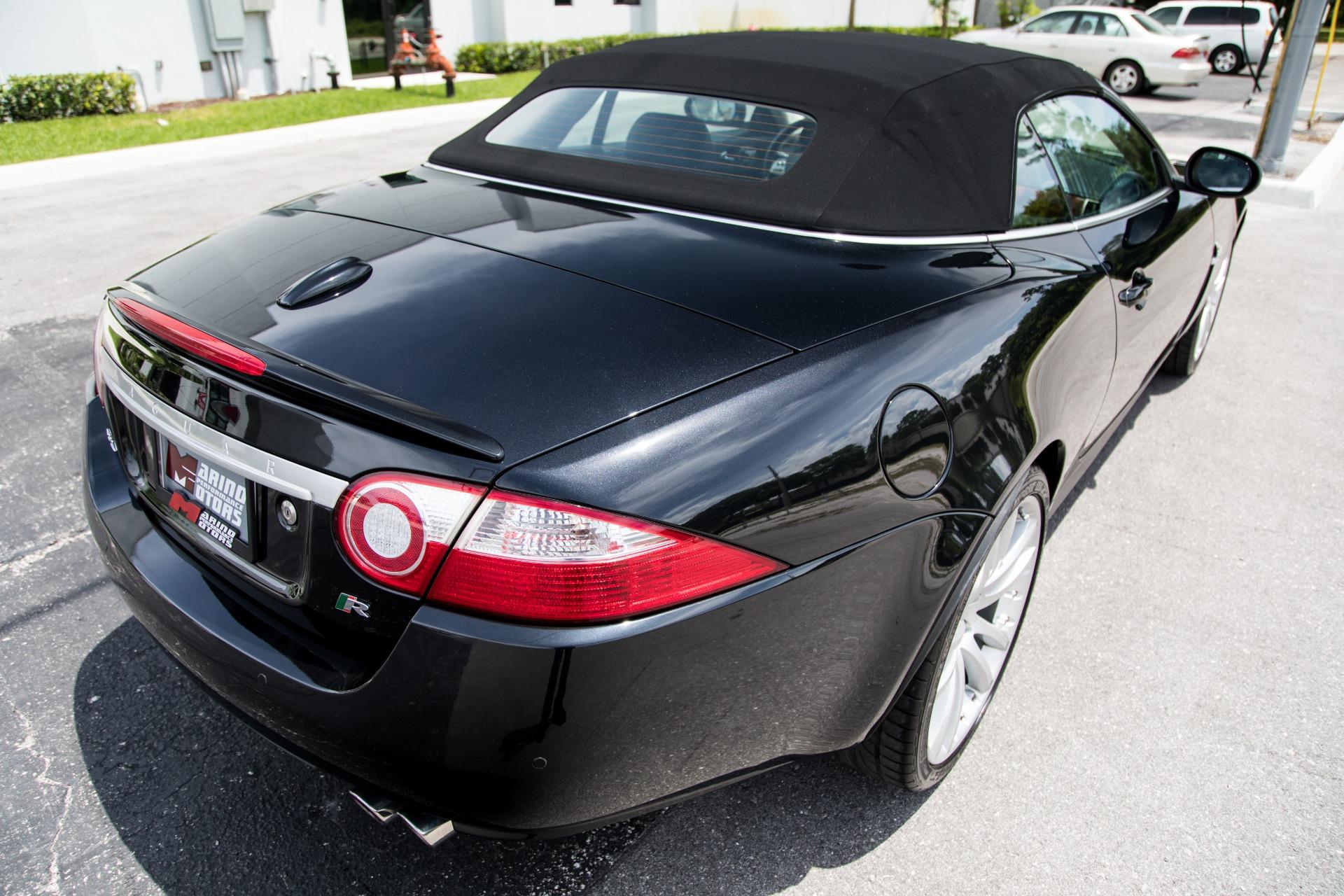 Used 2008 Jaguar XK-Series XKR For Sale ($32,900)   Marino Performance Motors Stock #B24841