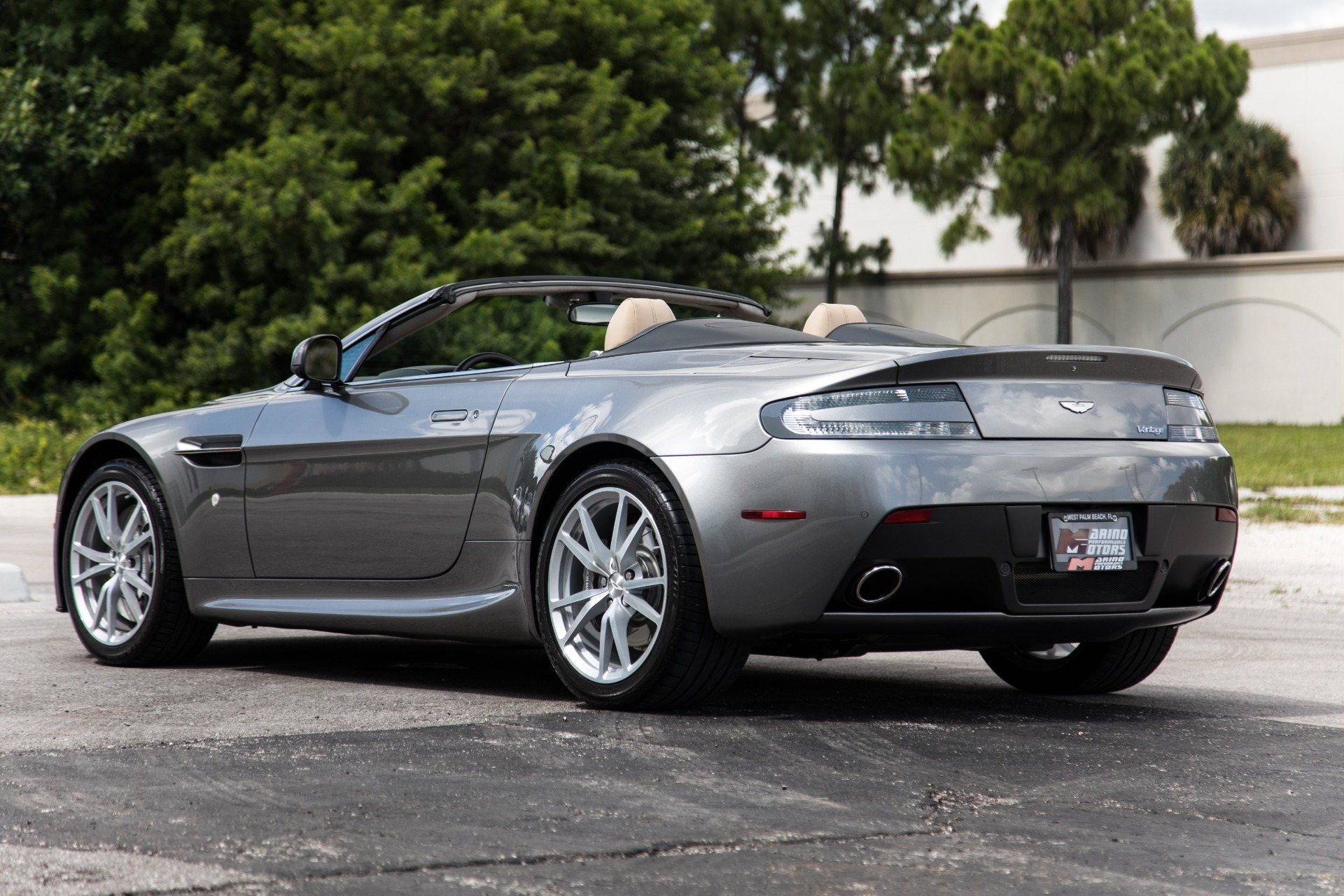 Used 2015 Aston Martin V8 Vantage Roadster For Sale 72 900 Marino Performance Motors Stock D19710