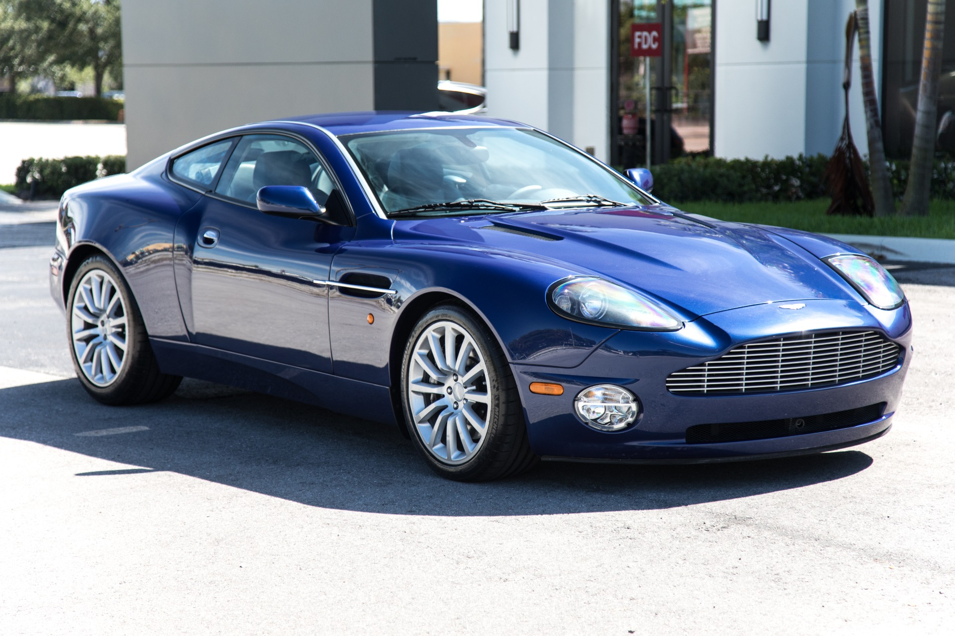 Used 2002 Aston Martin V12 Vanquish For Sale 74 900 Marino Performance Motors Stock 500159