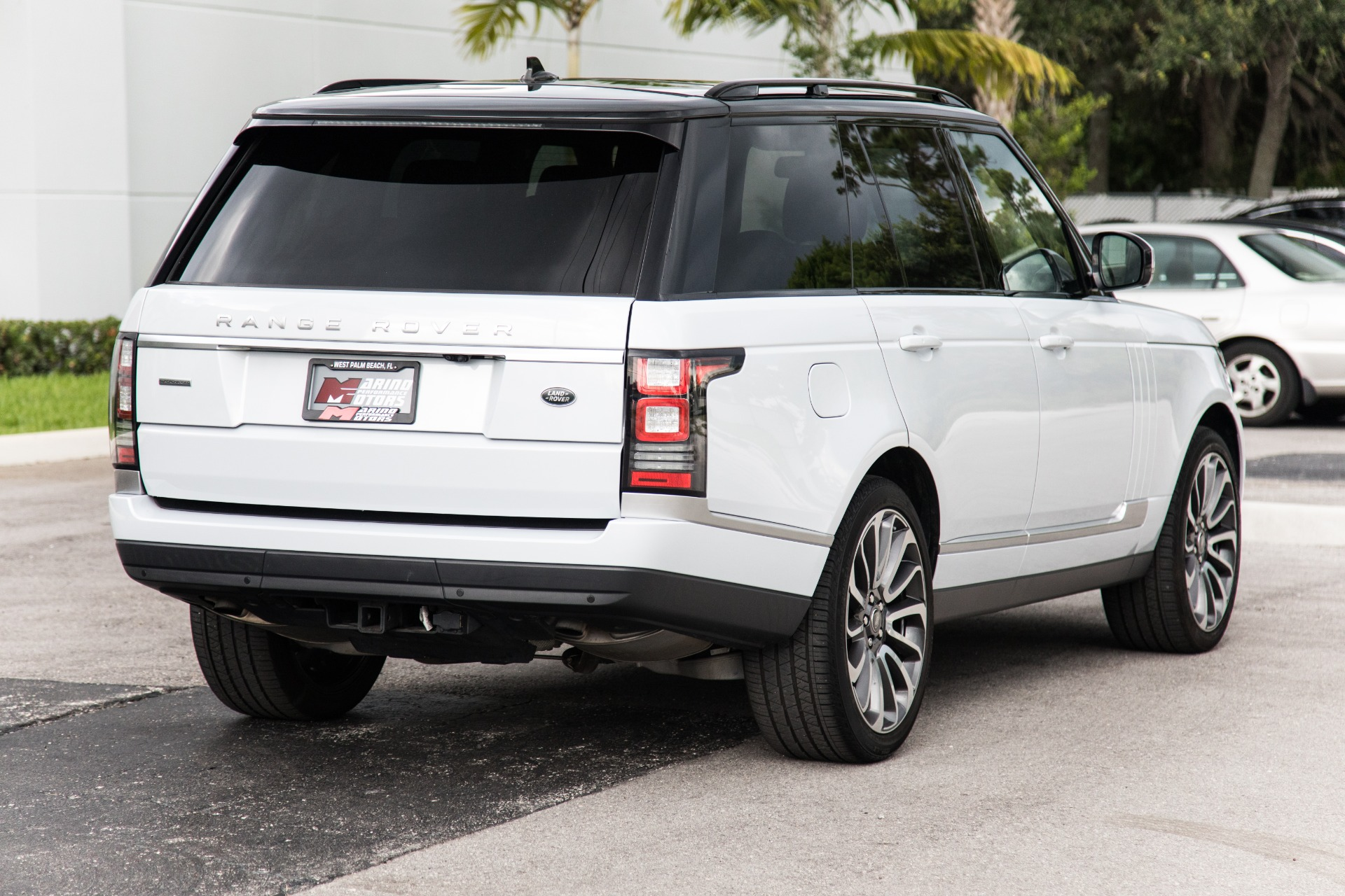 Range Rover Supercharged 2016 >> Used 2016 Land Rover Range Rover Supercharged For Sale