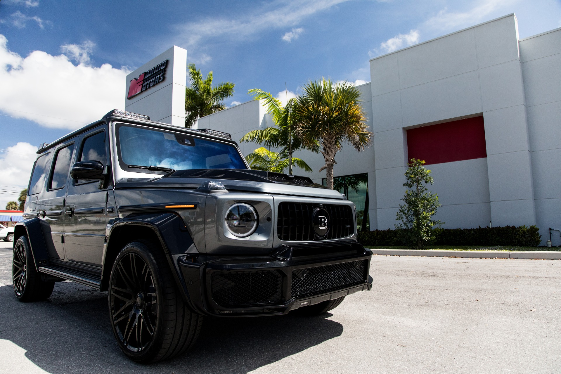 Used 2019 Mercedes Benz G Class Amg G 63 Brabus For Sale 249 900 Marino Performance Motors Stock 323158
