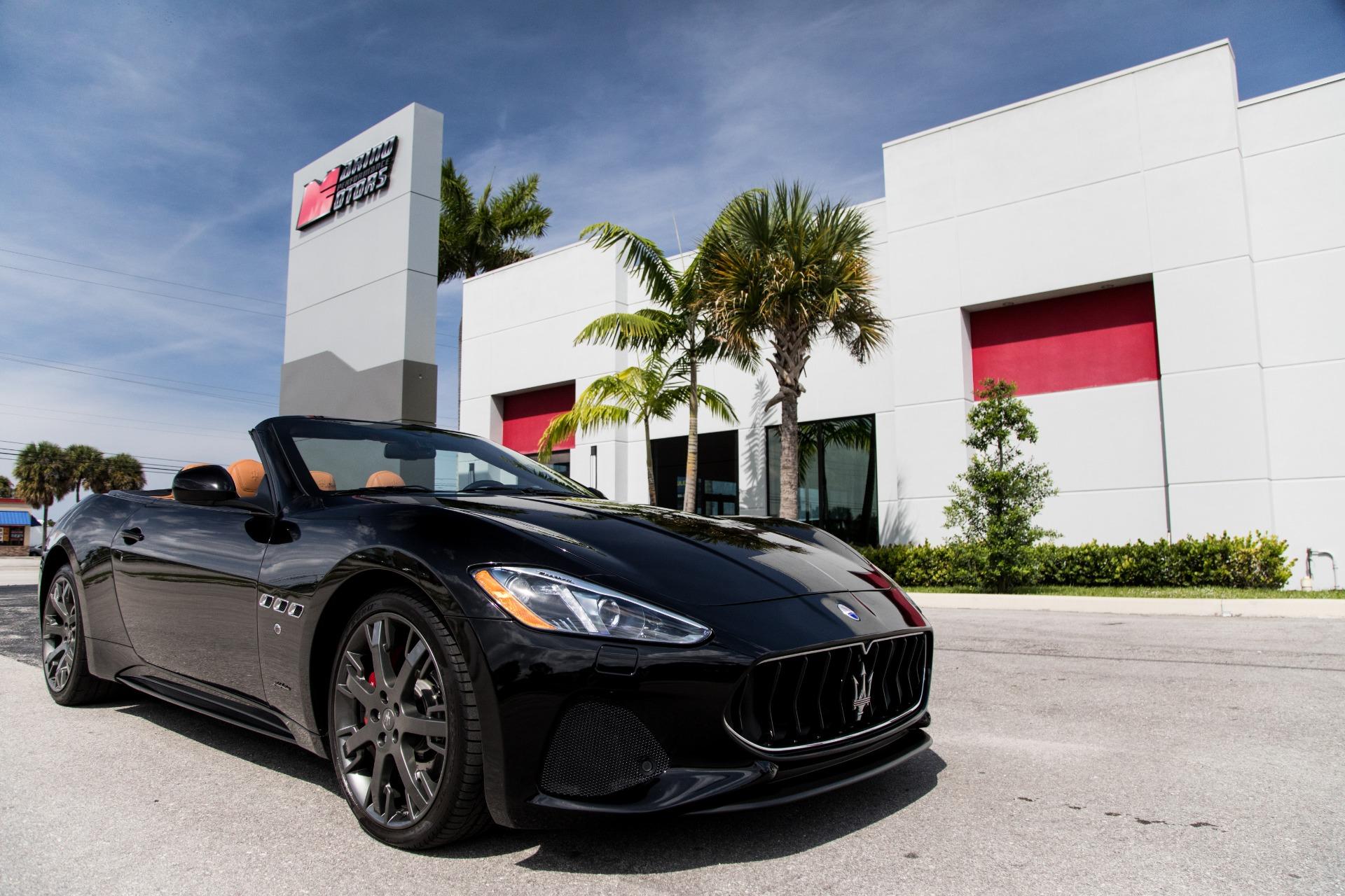 Used-2018-Maserati-GranTurismo-Sport
